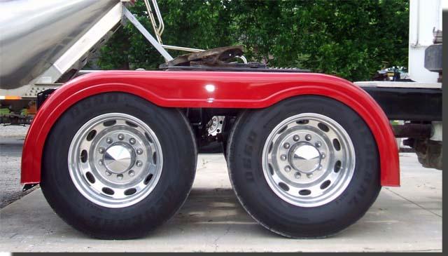 White Tractor Fenders : Cajun fiberglass rear fenders